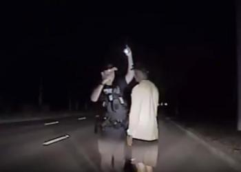 La vidéo de l'arrestation de Tiger Woods diffusée