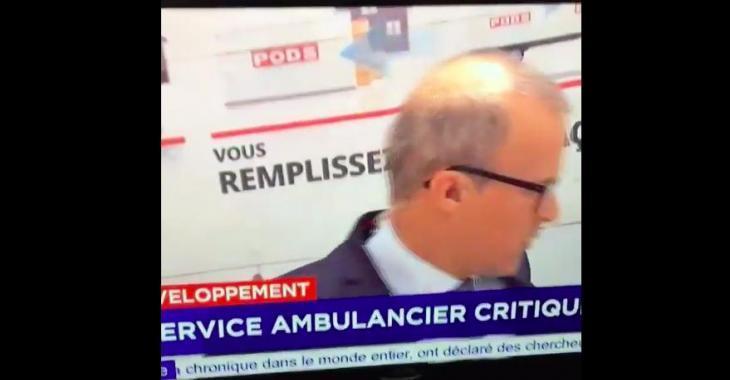 Un journaliste de TVA passe à deux doigts de se faire écraser en direct à la télévision