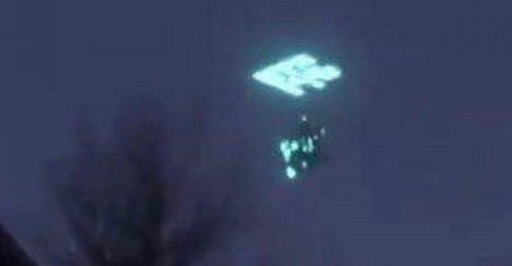 VIDÉO | Un ovni est «téléporté» en plein ciel !
