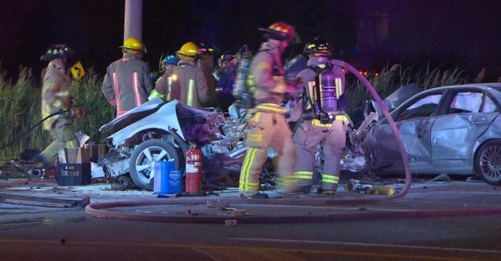 Trois morts dont deux enfants dans un violent accident de la route