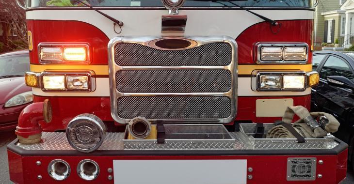 Incendie dans un immeuble à logements pour une fringale