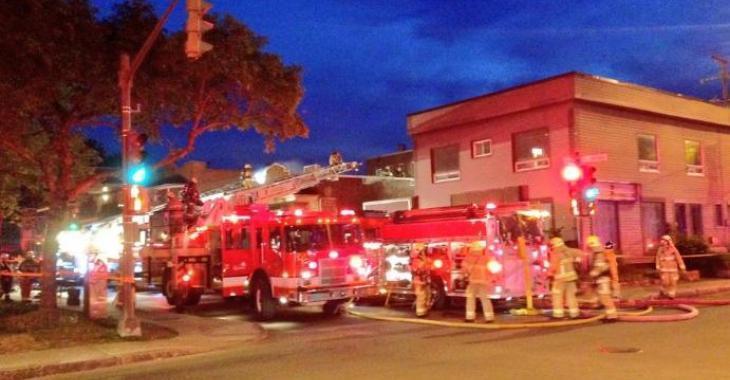 Incendie mortel   Deux personnes perdent la vie dans les flammes