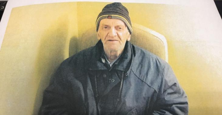 Un homme souffrant d'Alzheimer manque à l'appel