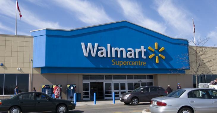 Walmart dans l'eau chaude