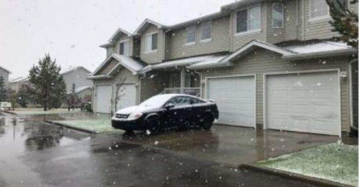 MÉTÉO |Déjà de la neige dans cette grande ville canadienne