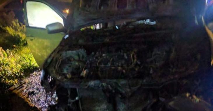 Voiture incendiée | Deux suspects arrêtés
