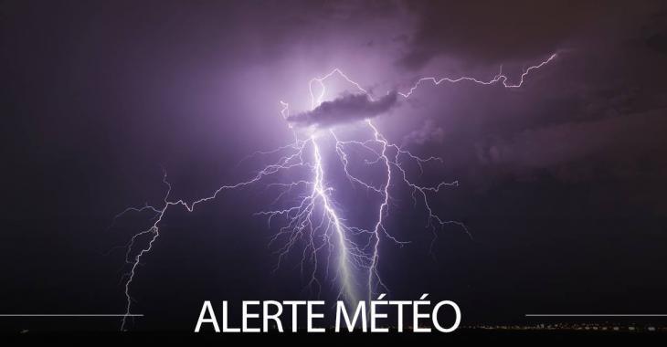 Alerte d'orages violents pour ces régions du Québec
