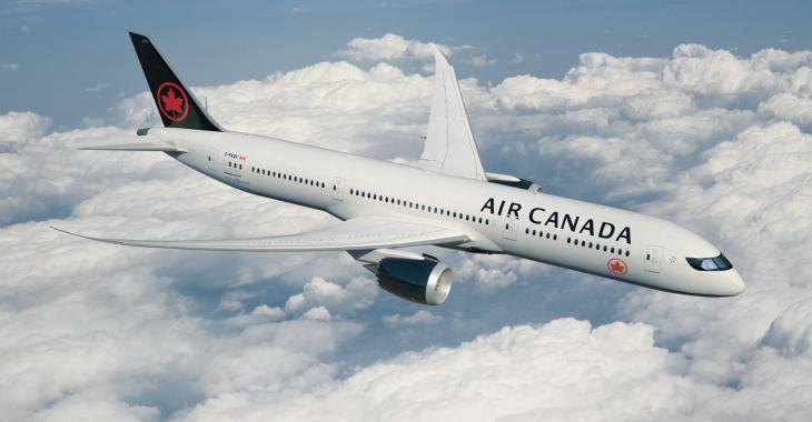 Air Canada dans l'eau chaude