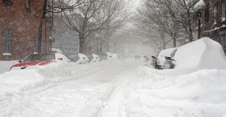 Une alerte de tempête est en vigueur pour plusieurs secteurs du Québec