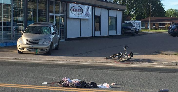 Accident | Un cycliste gravement blessé
