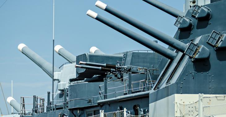 Collision entre un bateau de l'armée américaine et un autre navire