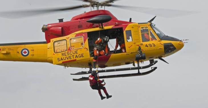 Opération de sauvetage en cours