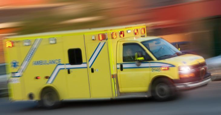 Un blessé grave dans un accident de travail
