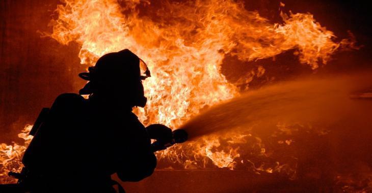 Incendie | Un bâtiment ruiné par les flammes