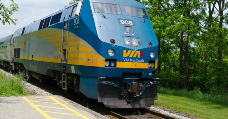 Horrible décès sous les roues d'un train de Via Rail