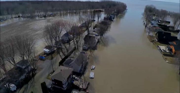 Habitués aux inondations, ils se battront pour sauver leurs maisons !