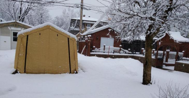 MÉTÉO | Encore de la neige...