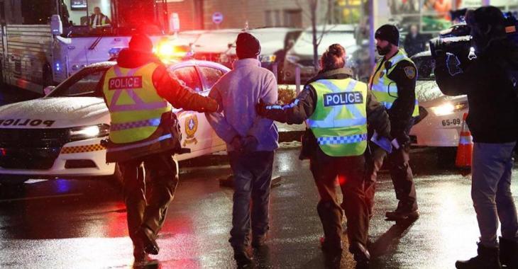 ACCIDENT: Un policier arrêté
