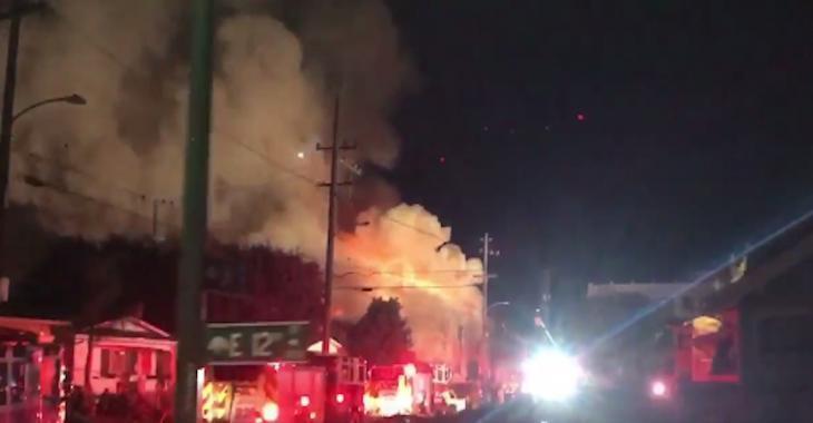 INCENDIE: 9 morts et 15 disparus