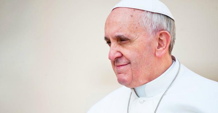 Le pape François fait une surprenante déclaration…