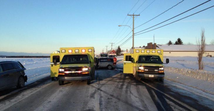 ACCIDENT |4 véhicules impliqués