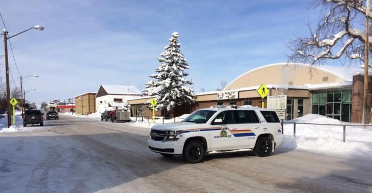 Situation d'urgence dans une ville du Canada