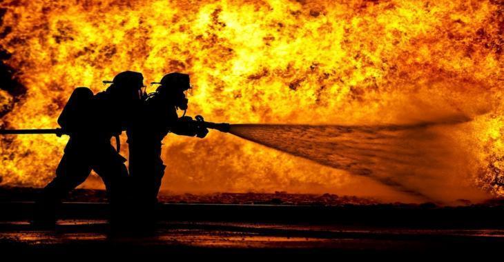 INCENDIE | Un garage actuellement la proie des flammes