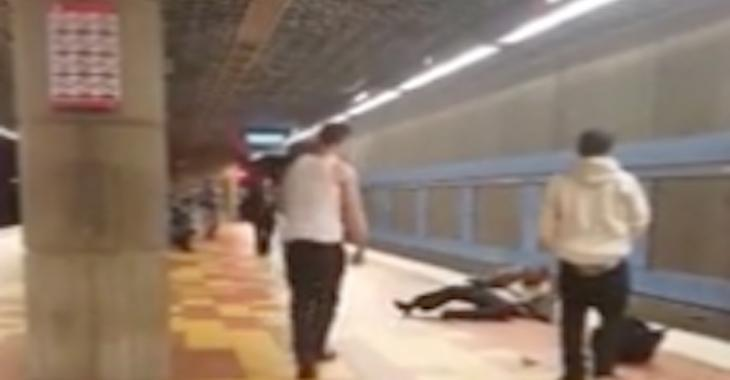 Attaque d'une extrême brutalité dans le métro