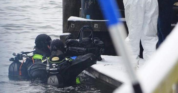 La police fait la découverte de la tête décapitée d'une femme dans un bloc de béton.