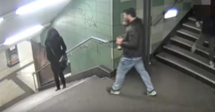 Victime d'une attaque complètement gratuite dans le métro