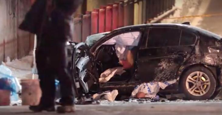 Violente collision: un blessé grave