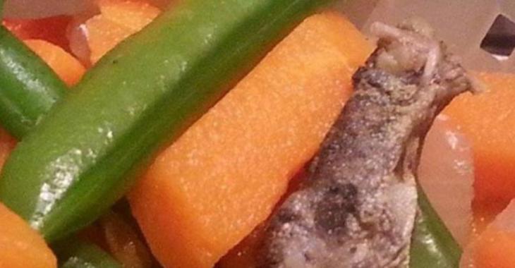 Ce qu'une femme du Bas-St-Laurent a trouvé dans ses légumes congelés vont coupera l'appétit.