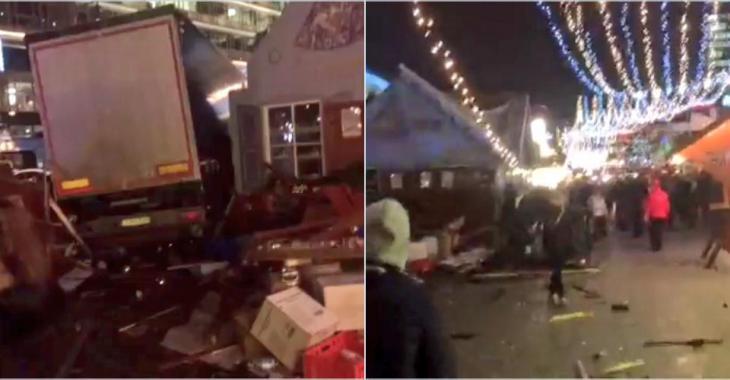 EN DIRECT: Voici tout ce que l'on sait de l'attaque au camion, il y a plusieurs morts.
