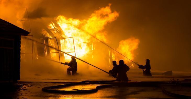 Incendie en cours dans un restaurant