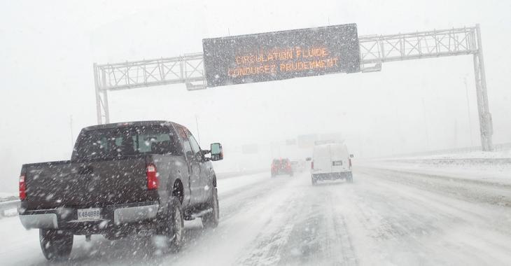 ALERTE MÉTÉO: 50 mm de pluie, 30 cm de neige et du verglas dans les prochaines heures