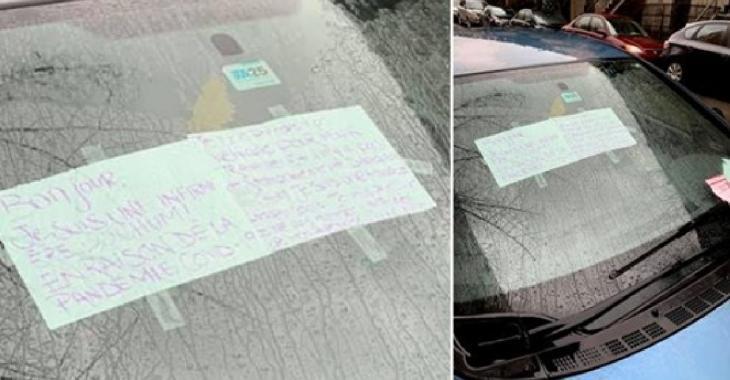 Une infirmière reçoit une contravention malgré un message pour expliquer sa situation