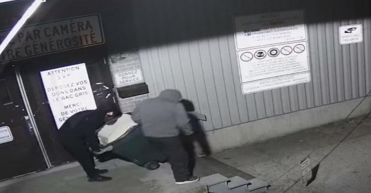 Des voleurs dérobent le coffre-fort du Comptoir familial de Sherbrooke.
