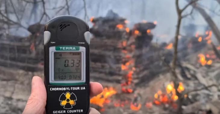 Augmentation inquiétante de la radioactivité à Tchernobyl
