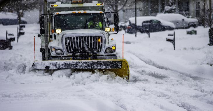Une importante bordée de 20 cm de neige pour certains secteurs de la province.