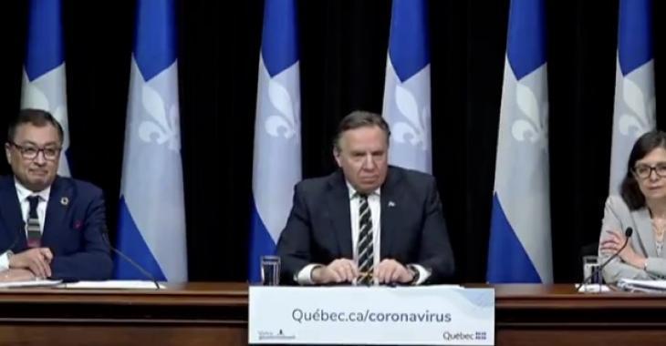 François Legault envisage débuter par un déconfinement dans certaines régions de la province.