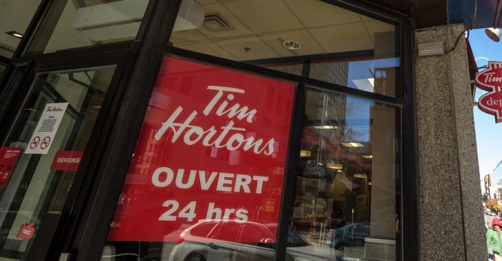 Les employés de Tim Hortons soumis à de nouveaux règlements