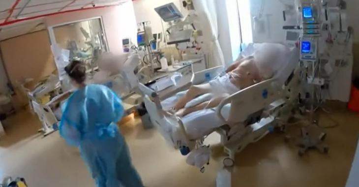 Le Dr Bellemare publie des images bouleversantes d'une zone chaude de l'Hôpital du Sacré-Cœur de Montréal
