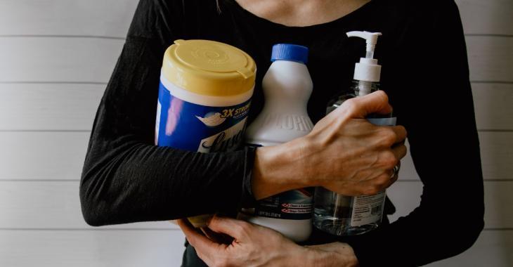 Importante augmentation des empoisonnements aux produits désinfectants au Canada
