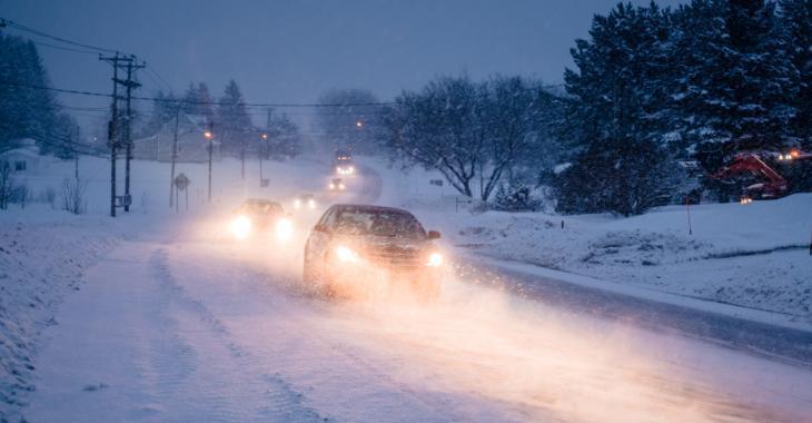 Jusqu'à 15 centimètres de neige dans certains secteurs de la province.