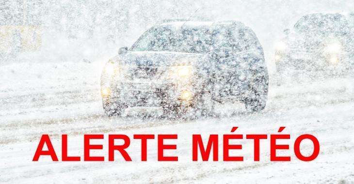 ALERTE MÉTÉO: Jusqu'à 30 cm de neige d'ici dimanche