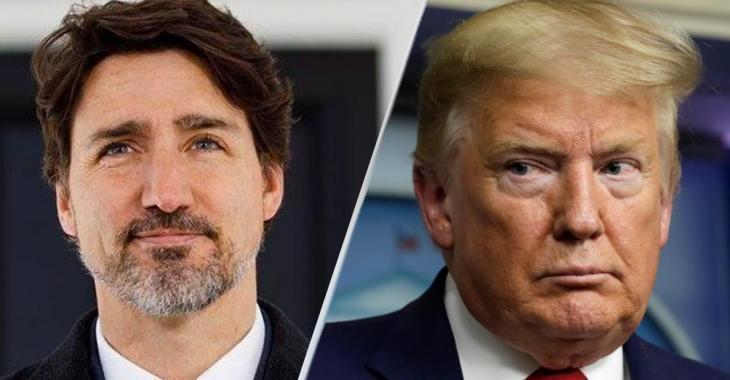 """Selon Donald Trump, la frontière entre le Canada et les USA """"pourrait"""" rouvrir avant le 21 juin."""