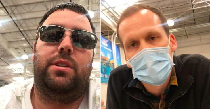 Il tente d'intimider un employé de Costco qui lui demande de porter un masque, mais la situation se retourne contre lui