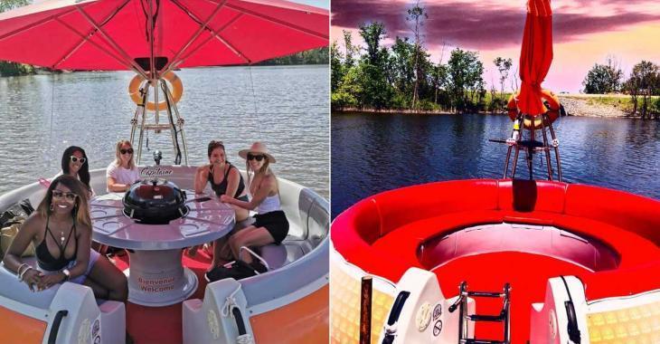 Il sera possible de faire la location d'un BBQ flottant à Laval cet été