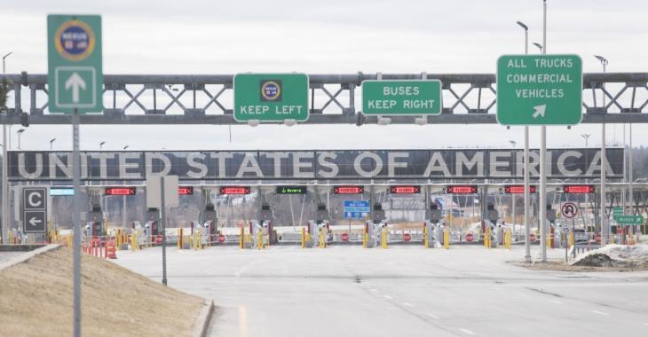 La frontière Canada États-Unis pourrait rester fermée encore au moins un mois