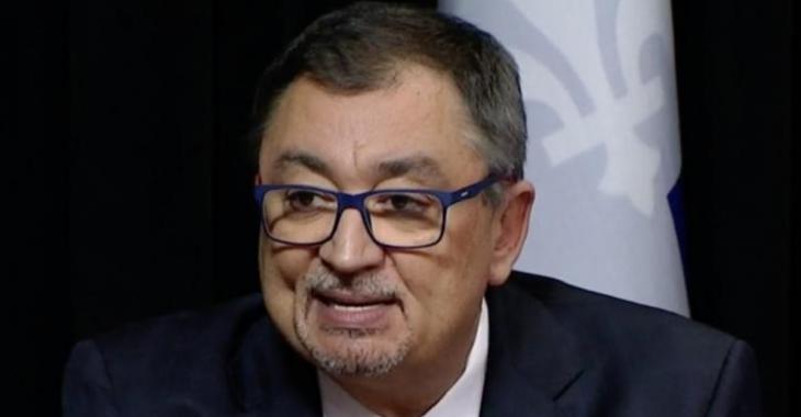 Horacio Arruda: «Plus on est en santé, plus notre corps est prêt à faire face au virus»